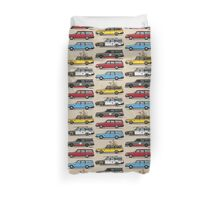 Stack of Volvo 200 Series 245 Wagons Duvet Cover
