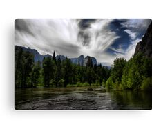 Through the Valley Canvas Print