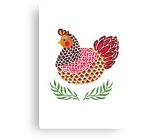 The Brown Hen Canvas Print