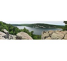 East Bluff Trail of Devils Lake Wisconsin Photographic Print