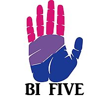 Bi Five Photographic Print