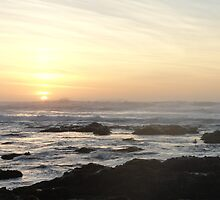 Sunset on the Pacific by RFA-Photography