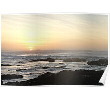 Sunset on the Pacific Poster