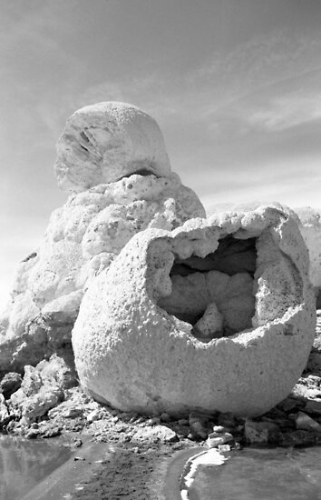 Stone Mother and her basket by Harry Snowden