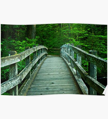 Bridge Over Silver Creek Poster