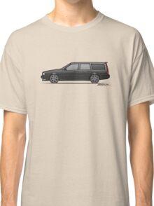 Volvo 850R 855R T5 'Swedish Turbo Wagon' (Black) Classic T-Shirt
