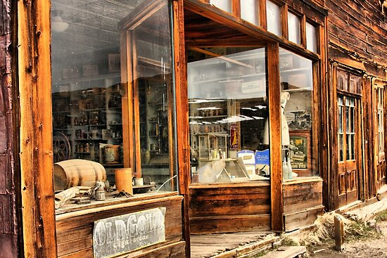 Old Storefront by Barbara  Brown