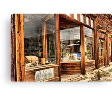 Old Storefront Canvas Print