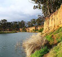 Werribee River - K Road Cliffs, Victoria by DashTravels