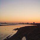 Seal Beach CA -View North by E.E. Jacks