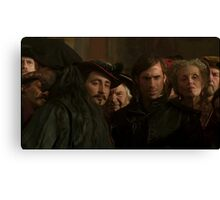 the onlookers Canvas Print