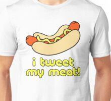 I Tweet My Meat Weiner Unisex T-Shirt