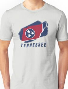 TENNESSEE state flag Unisex T-Shirt