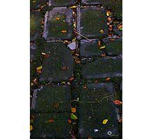The brick road Photographic Print