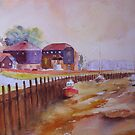 Rye harbour by Beatrice Cloake