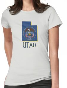 Utah state flag Womens Fitted T-Shirt