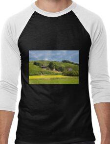 Vineyards near Oberkirch Men's Baseball ¾ T-Shirt