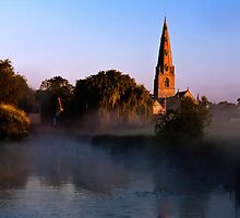 """""""The Rising""""   St Peter & St Paul by the Mill  by James  Key"""