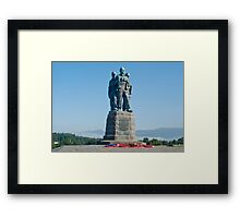 Commando memorial Framed Print