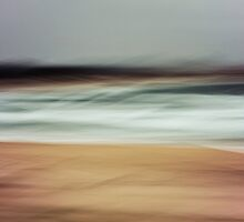 Stockton Beach Seascape by Su Walker