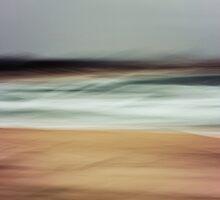 Stockton Beach Seascape by Su Walker