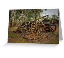 Reminder of days gone by ... Hill End ~ Australia Greeting Card