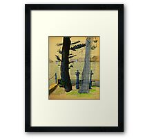 From Darling Point Twds Point Piper on an Overcast Day Framed Print