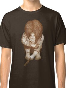 Alone - Sepia Classic T-Shirt