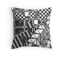 Crazy Geometric Throw Pillow