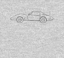 76' Corvette Stingray Unisex T-Shirt