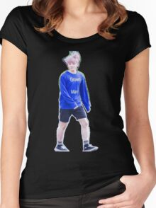 woozi as a grown man  Women's Fitted Scoop T-Shirt