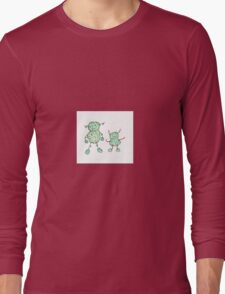 Colorful beautiful shapes for good mood Long Sleeve T-Shirt