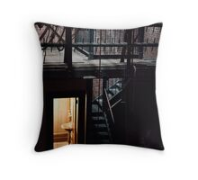 Theater Dressing Room Throw Pillow