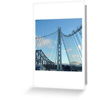 New Bay Bridge Greeting Card