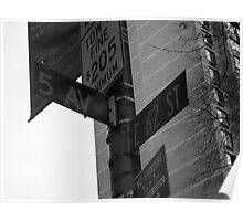 Corner Street Poster