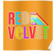 RED VELVET Typography Poster