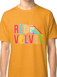 RED VELVET Typography Classic T-Shirt
