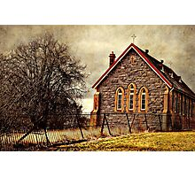 Old church - Gunning, New South Wales Photographic Print