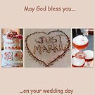 May God bless you on your wedding day  by ©The Creative  Minds