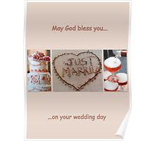 May God bless you on your wedding day  Poster