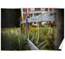 Garden fence Poster