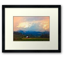 Hood River - Season Of Beauty Framed Print