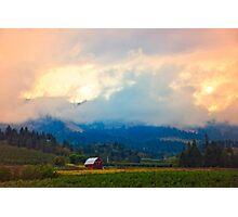 Hood River - Season Of Beauty Photographic Print