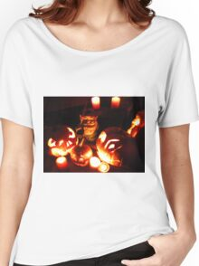 Glowing Friends Gnome Women's Relaxed Fit T-Shirt