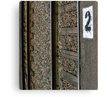 Two Plus Two Are Two Canvas Print