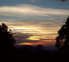 Brindabella Sunset by lawrco