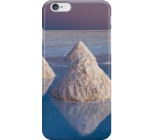 Salt mounds iPhone Case/Skin