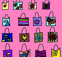 Whimsical Gift Bags by CynthiaCordell