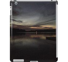 TWILIGHT OVER PIERCE LAKE iPad Case/Skin
