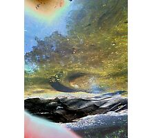 beyond the scarred and barren shores Photographic Print